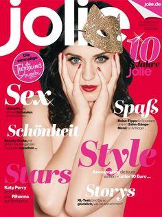 Jolie Magazine [Germany] (October 2013) Katy Perry