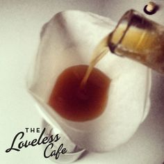 Filtering your Bacon Whiskey - Loveless Cafe