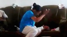 Dad Catches Mom Violently Punching Their Newborn Because She Wouldn't Stop Crying - http://eradaily.com/dad-catches-mom-violently-punching-newborn-wouldnt-stop-crying/