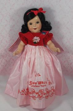 Effanbee Dolls, Sewing Dolls, Temple, Snow White, Composition, Disney Princess, Home, Antique Dolls, Temples