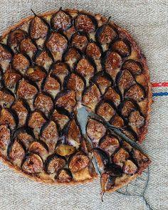 Oh. My. God! —Almond Custard & Fig Tart