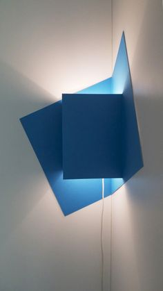 Pop-up light – A lamp constructed from a sheet of paper