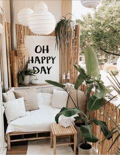 Apartment Balcony Decorating, Condo Decorating, Apartment Balconies, Small Balcony Design, Small Balcony Decor, Condo Living, Outdoor Living, House Design, Interior Design