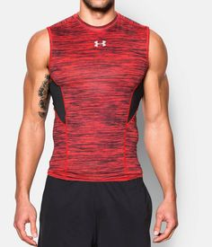 ca6673ae Shop Under Armour for Men's UA CoolSwitch Armour Sleeveless Compression  Shirt in our Mens Tops department