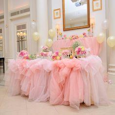インスタで人気の王道可愛い高砂デコレーションまとめ | marry[マリー] Wedding Table Deco, Bridal Table, Reception Decorations, Event Decor, Golden Birthday Parties, Cute Furniture, Girl Birthday Decorations, Pretty Images, Bling Wedding