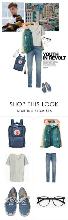 """""""Jakow - youth in revolt"""" by prettymadlill ❤ liked on Polyvore featuring Fjällräven, Orlebar Brown, Dolce&Gabbana, Vans, Hedi Slimane, EyeBuyDirect.com, vintage, men's fashion and menswear"""