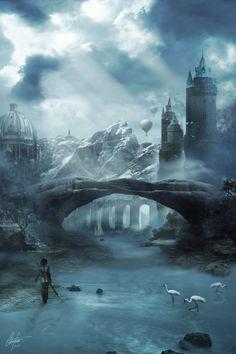 The Gates of Evermhor by Alegion.deviantart.com on @deviantART