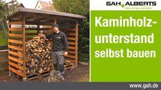 GAH Alberts Workshop - Bau eines Kaminholzunterstands