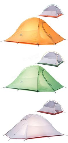 Naturehike Outdoor Waterproof Camping Tent Ultralight 2 Person Double Layer Tent 4 Season For Travel Camping