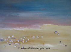 Enjoy the Beach, 80 x 60 cm. Please click here: www.art-senger.com #painting #art #artwork #beach Painting Art, Strand, Inspiration, Abstract, Beach, Artist, Artwork, Innovation, Pictures