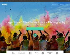Branded user-generated photo content on demand
