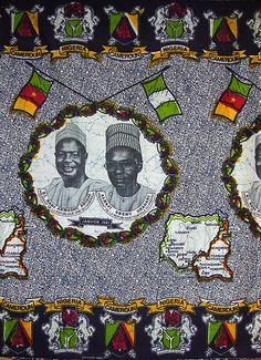 Made by CICAM in 1981, commemorating the January 1981 state visit of Nigerian President Shehu Usman Aliyu Shagari to Cameroon.  Shagari led the Nigerian Second Republic from its birth until he was overthrown on the last day of 1983. Ahidjo led Cameroon from independence until pushed into exile by PM Paul Biya. Both Shagari and Ahidjo were Fulani, from the north. Despite the smiling faces, in May 1981 the two neighbors almost went to war after a border clash in the disputed Bakassi peninsula.