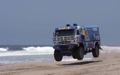 Kamaz truck - Dakar Rally 2013