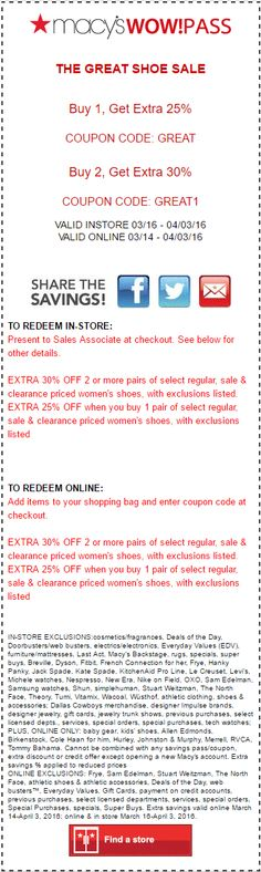 10 off macys coupon codes printable coupons 2017