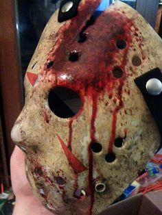 #Custom #Bloody #Dirty Part 4 #Part 4 #Friday the 13th #Jason Voorhees #Horror #Hockey Mask #The Final Chapter