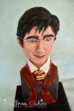 Harry Potter bust cake