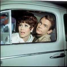 """Dean Jones and """"Michele Lee"""" in The Love Bug"""