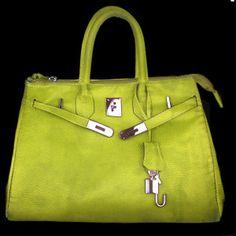 #Vegan citrus #Birkin bag - $100 and #ecofriendly