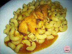 Happiness is Homemade: Savršeni ručak: piletina s tjesteninom Kolaci I Torte, Happy Kitchen, Garlic, Homemade, Vegetables, Happiness, Food, Recipes, Bonheur