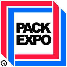 trade show models drawing a crowd PackExpo