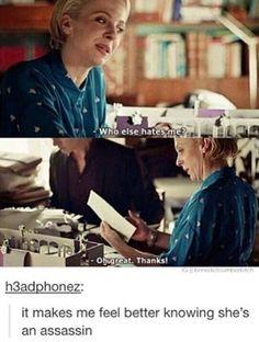 Sherlock gave her a hit list