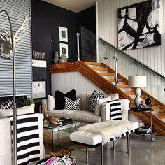 penthouse wohnung montreal designerin julie charbonneau, 11 best new flooring images on pinterest | arquitetura, epoxy floor, Design ideen