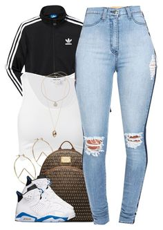 """9/9"" by cjasmyne ❤ liked on Polyvore featuring adidas, Helmut Lang, ASOS, MICHAEL Michael Kors, Topshop and Forever 21"