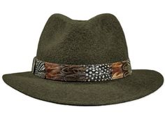 Wollfilz-Hut in Elementary Qualität, Feder-Hutband, wasserfest;  Farbe: dunkelbraungrau melange Hat Styles, Elegant, Hats, Fashion, Fedora Hat, Fashion Hats, Headboard Cover, Get Tan, Gray