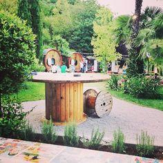 Saturday night special dinner #biergarten #chickenco   sul #lagodigarda #trentino, a #pietramurata (vicino alle #placchezebrate)