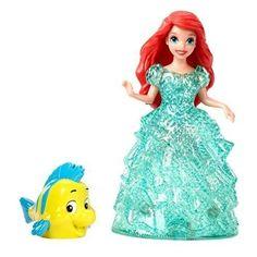 BooTool(TM) Disney Princess Glitter Glider Ariel Doll