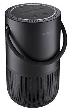 Enceinte multiroom Bose Home Speaker Black Room Speakers, Diy Speakers, Bluetooth Speakers, Woofer Speaker, Electric Cooker, Portable House, Unique Flooring, Game Room Design, School Supplies