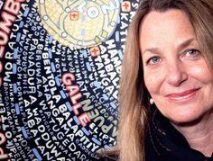 Paula Scher (graphic designer, painter and art educator in design, USA) http://thegreatdiscontent.com/paula-scher