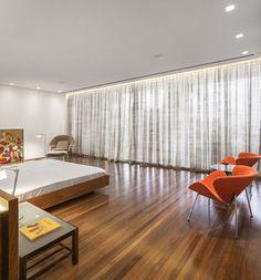 Casa P / Studio MK27 - Marcio Kogan + Lair Reis #bedroom