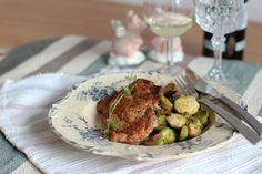 Pork Chops with Brussels Sprouts
