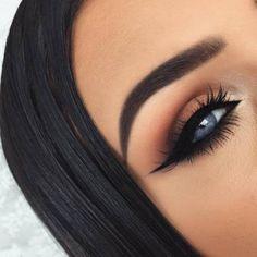Augen Make-up – Makeup For Beginners Eyebrow Makeup Tips, Eye Makeup Steps, Eye Makeup Remover, Beauty Makeup, Hair Makeup, Makeup Brushes, Makeup Meme, Makeup Basics, Makeup Kit