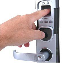 Biometric security door lock Benefits of Using Fingerprint Access Control Door Lock