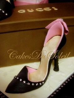 ~ Sugar Teachers ~ Cake Decorating and Sugar Art Tutorials: How to Make a Gumpaste High Heel Shoe
