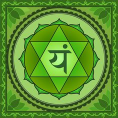 The Heart Chakra is the center for unconditional love, compassion, empathy, forgiveness and tolerance. Read about how to Heal and Open your Heart Chakra with. Anahata Chakra, Chakra Art, Reiki Chakra, Chakra Meditation, Chakra Painting, 7 Chakras, Heart Chakra Healing, Star Tattoo Designs, Star Tattoos