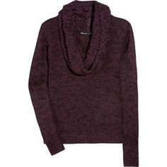 Elizabeth and James Knitted cotton-blend sweater
