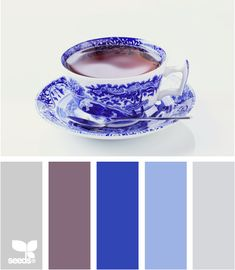 Color palettes, by Design Seed