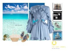 """""""Romper Around"""" by freida-adams ❤ liked on Polyvore featuring Seed Design, Zimmermann and Sun N' Sand"""