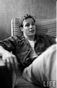 Marlon Brando Young Life archive