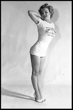 Marilyn Monroe. I don't care who you are, this will always look better than being stick-thin.