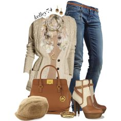 """Naturally Cozy"" by kelley74 on Polyvore"