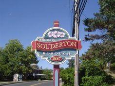 Souderton, PA -- Near the Folk Fest!