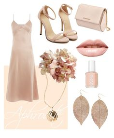 """""""Aphrodite"""" by riley264 on Polyvore featuring Marques'Almeida, Humble Chic, Essie, Givenchy and LASplash"""