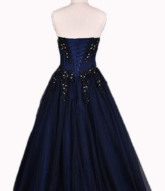 navy blue prom dressesnavy blue long prom dresseslong por YIMISTYLE