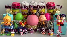 The Good Dinosaur,Hello Kitty Toy,Minecraft   PlayDoh SurpriseEgg   Toys...