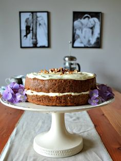 Cream Cheese Icing, Cake With Cream Cheese, Carrot Cake, I Foods, Carrots, Posts, Cakes, Baking, Desserts