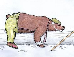 "Check out new work on my @Behance portfolio: ""Even bears grow old"" http://be.net/gallery/57895177/Even-bears-grow-old"